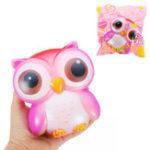 Оригинал Galaxy Owl Squishy 12,5 * 12 * 7 см Sweet Soft Медленная растущая коллекция Подарочная упаковка Игрушка Оригинальная упаковка