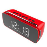 Оригинал DidoLEDLCDЗеркалодляэкрана Часы Hi-Fi Fuction Bluetooth TF AUX Play FM-трансляция Радио Объемный звук Коробка Сигнализация Часы
