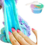 Оригинал 60ml Смешанная облачная слизь Кристалл Снежинка Хлопковая грязь DIY Материал Декомпрессионная игрушка