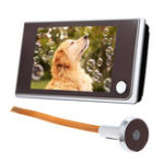 Оригинал 3,5-дюймовый цифровой 120 ° дверной защелок Peep Hole Video Doorbell Viewer камера Монитор