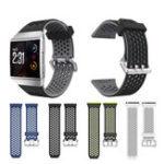 Оригинал 22mmSmallСиликоновыйЧасыСтандартыдля Fitbit Ionic Smart Watch