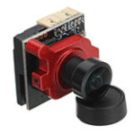 Оригинал 1/3 Super HAD II CCD 2.1mm / 2.3mm MINI A19 FPV камера PAL NTSC OSD Регулируемая для RC Дрон