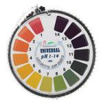 Оригинал Универсальные испытательные полоски PH Полнодиапазонный диапазон 1-14 Диспенсер для индикаторной бумаги для индикаторов C Таблица цветов