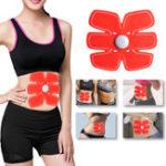 Оригинал Smart Фитнес EMS Шесть подушечек для тела. Обувь для тренировки мышц живота.