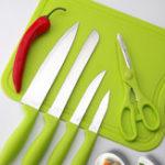 Оригинал KCASAKF-36PiecesКухоннаямногофункциональная зеленая нержавеющая сталь Легкие ножницы для резки Ножницы для нарезки ножей