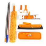 Оригинал 5 в 1 Многофункциональная плоская швабра Ручная стирка Mash Home Cleaning Инструмент