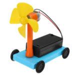 Оригинал Ветровая тележка Wind Driving Force Авто Модель Физический эксперимент DIY Научные развивающие игрушки Набор