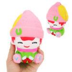 Оригинал Снеговик Мальчик Squishy 13CM Ароматическая Squeeze Медленная Восходящая игрушка Soft Коллекция подарков