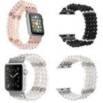 Оригинал Браслет из перламутрового бисера Стандарты Ремень для Apple Watch iWatch Серия 1 2 38/42 мм