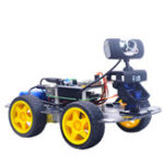 Оригинал Xiao R DS WiFi Wireless Video Smart Robot Авто Набор с камера