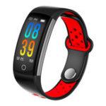 Оригинал BakeeyQ60.96inchIP68Кровяноедавление Сердце Рейтинг Монитор Фитнес Tracker Bluetooth Smart Wristband