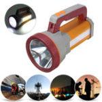 Оригинал 3000LM USB перезаряжаемый супер яркий LED Spotlight Водонепроницаемы Прожектор факел походы LED фонарик