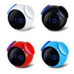 Оригинал LoskiiHC-202ПерезаряжаемыйBluetoothДинамикBass Mirror Snooze Функция Alarm Часы Поддержка карты AUX TF