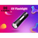 Оригинал XANESU019xLEDФиолетовыйсвет Многофункциональный ультрафиолетовый LED Флуоресцентный детектор Ручка AAA