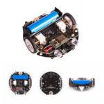 Оригинал 11см * 10см * 3.5см Базовая версия Программирование Mini Patrol Smart Robot Car для Arduino с модулем Wifi + кабель USB
