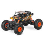 Оригинал Wltoys 18428-B 1/18 2.4G 4WD Brushed Racing Rc Авто Скалолазание Monster Truck Toys