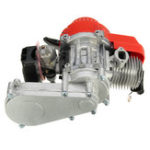 Оригинал 49cc 2 Ход Двигатель с воздушным фильтром Carb T8F 14T Gear Коробка для мини-мотоциклетного велосипеда ATV Quad