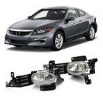 Оригинал 2PcsГалогенАвтоПротивотуманныефарыПередний приводной бампер Лампа для Honda Accord 4DR EX SE LX 2011-2012