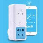 Оригинал SONOFF S22 10A / 2200W AU Plug Дистанционное Управление Switch Smart WiFi Разъем Управление приложениями Smart Home