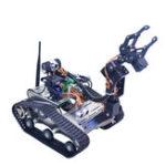 Оригинал Xiao R DIY FPGA Wifi Видеоконтроль Smart Robot Tank Авто с камера PTZ