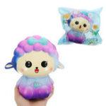 Оригинал Галактическая овца Squishy 13.5cm Sweet Soft Медленная роспись Коллекция подарков Декор Игрушка Оригинальная упаковка