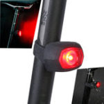 Оригинал Sahoo71392КрасныйLEDВелосипедTail Lights IPX4 Водонепроницаемы 3 режима USB зарядка Предупреждение фонарик