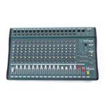 Оригинал EL M MX1608-USB 16-канальный 1000 Вт DJ KTV Karaoke Mixer USB Mixing Console Усилитель