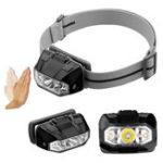 Оригинал RevtronicHL3AUltra168LMXP-E2R2 Интеллектуальное зондирование 3 режима Бесступенчатое регулирование LED Фара 3 * AAA