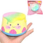 Оригинал Areedy Squishy Pudding 10 * 6cm Soft Медленная растущая коллекция Подарочная упаковка Игрушка Оригинальная упаковка