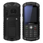 """Оригинал HuntfoxM82.4""""1700mAhIP68 Водонепроницаемы Уровень фонарик Блок питания SOS Dual SIM Feature Phone"""