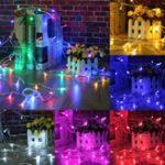 Оригинал 100M 500LED На открытом воздухе Fairy String Light Рождество Свадебное Party Лампа Водонепроницаемы EU Plug AC220V