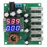 Оригинал 10-30 В до 5V 8A DC-DC 6 USB-конвертер Power Power Авто Модуль регулятора мощности