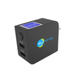 Оригинал Allmaybe EU2-ST LCD Экран 2 порта USB-выход Rapid Smart Speed-boosting Portable Mini Charger
