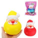 Оригинал Симела Squishy Дед Мороз Рождества 13см Медленный Восходящий Коллекция Подарочный Декор Soft Сожмите Игрушку