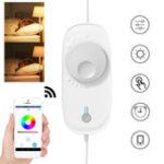 Оригинал DC12V Wifi Светодиодный Контроллер диммера работает с Alexa Voice Control Google Home APP