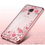 Оригинал Ultra-SlimSoftTPUПлакировкаКрасивыецветы Защитные Чехол Для Meizu Pro 6 Plus Global Edition