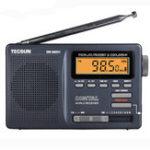Оригинал Tecsun DR-920C FM MW SW 12 Стандарты Цифровой Часы Сигнализация Радио Приемник