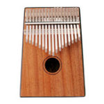 Оригинал Йонас 17 Ключи Красное дерево Вуд Калимба Африканское пальто Пианино Мини Клавиатура Инструмент