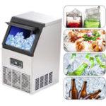Оригинал 40 кг Авто коммерческий чайник для льда Cube Машина для производства льда Машина для производства льда для льда Набор Оборудование из нержаве