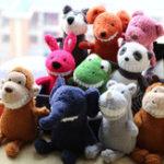 Оригинал 15 дюймов Мультфильм Grin Фаршированные животные Плюшевые игрушки Кукла для детей Baby Christmas Birthday Gifts