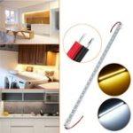 Оригинал 50CM SMD4014 Не водонепроницаемый 14W 72 LED Жесткая полоска для бара для кухонной кухни Home Decor DC12V