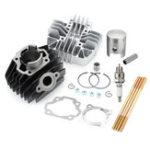 Оригинал Цилиндрический поршень Двигатель Зажим для верхней крышки Набор Для Yamaha PW80 1983-2006