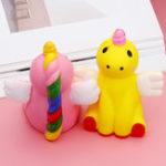 Оригинал Flying Собака Fox Squishy 11 * 10 CM Медленная восходящая игрушка Soft Подарочная коллекция
