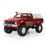 Оригинал WPLC-241/164WD2.4GВоенный Грузовик Buggy Crawler Off Road RC Авто 2CH RTR Toy