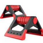 Оригинал TU5005FoldPushupBarStands Сопротивление скольжению с мягкими ручками, отлично подходит для верхних упражнений Набор Pu