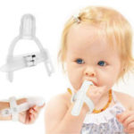 Оригинал Thumbsucking Силиконовый Thumb Sucking Stop Finger Guard Protector В течение 1-5 лет Baby Kids