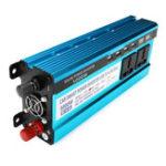 Оригинал 5000W Пик Солнечная Инвертор мощности Dual LED Экраны 12V / 24V DC до 220V AC Модифицированный преобразователь синусоидальной волны