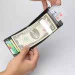 Оригинал BaellerryМужскиепортативныедержателикредитныхкарт Винтаж Money Clip Чехол Business ID Card Holder