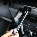 Оригинал Универсальный мощный Sticky 360 градусов Вращающийся держатель для клипа Авто Крепление для iPhone Xiaomi Mobile Phone