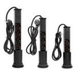 Оригинал Настольная Pop Up Power Разъем Выход 3/4/5 EU Plug Power Strip Домашний офис Power Outlet с USB